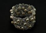 Maryanne schall pearl-bracelet-knitted